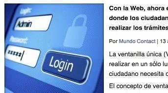 Ventanilla Única en México en Mundo Contact por Edgar Vásquez Cruz