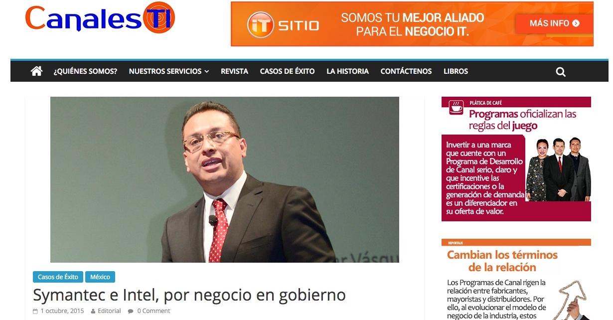Edgar Vásquez Cruz, High level networker & IT solutions provider Edgar Vásquez