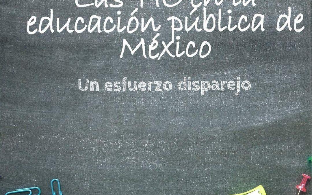 Para borrar-Las TIC en la educación pública de México, un esfuerzo disparejo