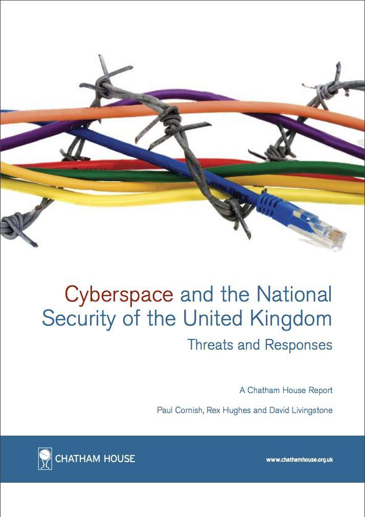 Libro-Cyberspace and the National Security of the United Kingdom