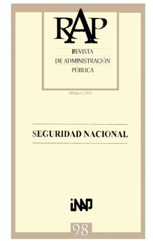 Revista Administración Pública 98
