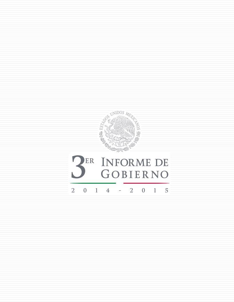 Tercer Informe de Gobierno- 2015-México