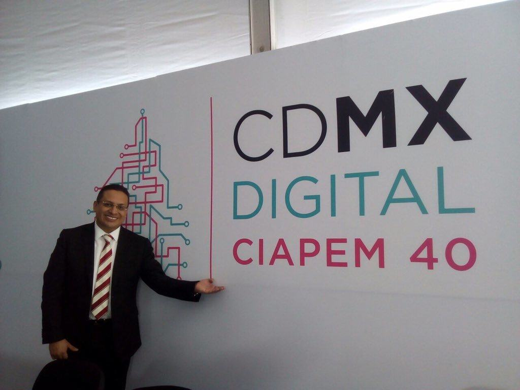 Edgar Vásquez Cruz en CIAPEM 40 Edgar Vásquez