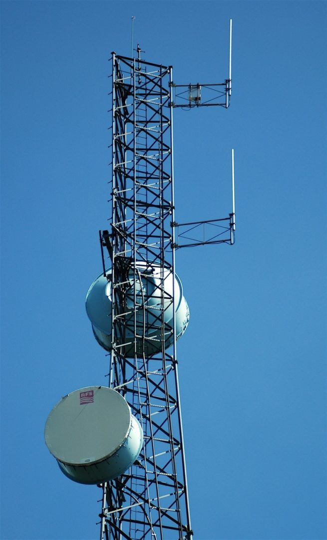 Antena de red compartida