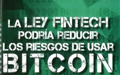 La ley Fintech podría reducir los riesgos de usar Bitcoin en México