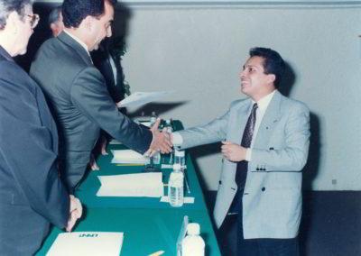Edgar Vásquez Cruz en Diplomado en el INAP