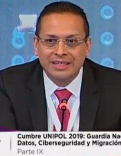 Edgar Vásquez Cruz en UNIPOL 2019