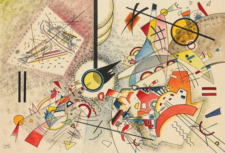 """Sin titulo"", cuadro de Wassily Kandinsky"